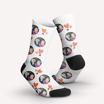Sokker med foto