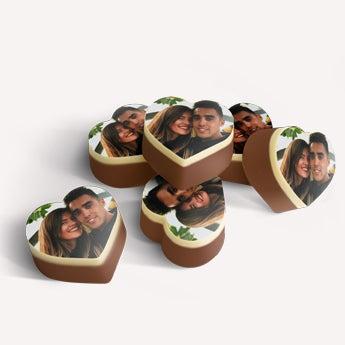 Chokolader hjerte