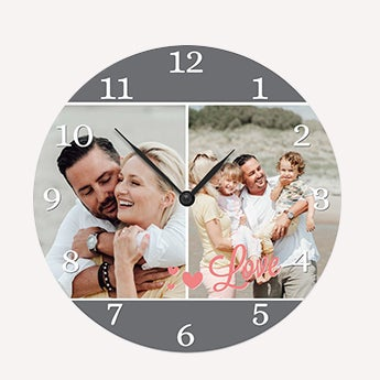 Relógio com foto