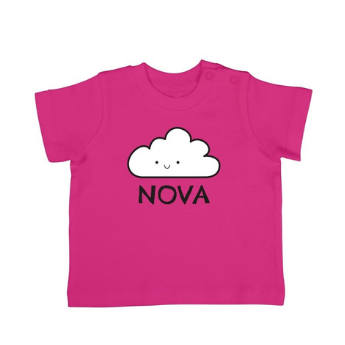 Idea #3: Personalised pink baby t-shirt