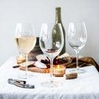 Viinilasit kaiverruksella