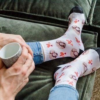 Como se faz? Personalize suas próprias meias
