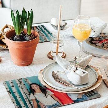 Odświętna dekoracja stołu
