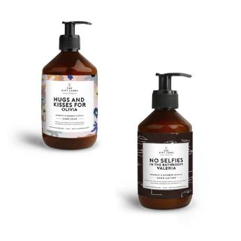 Heerlijke handzeep en -lotion van The Gift Label