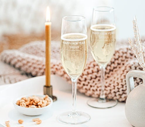 Personalised champagne gifts and more