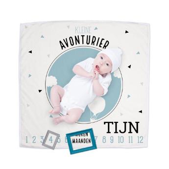 baby deken mijlpalen