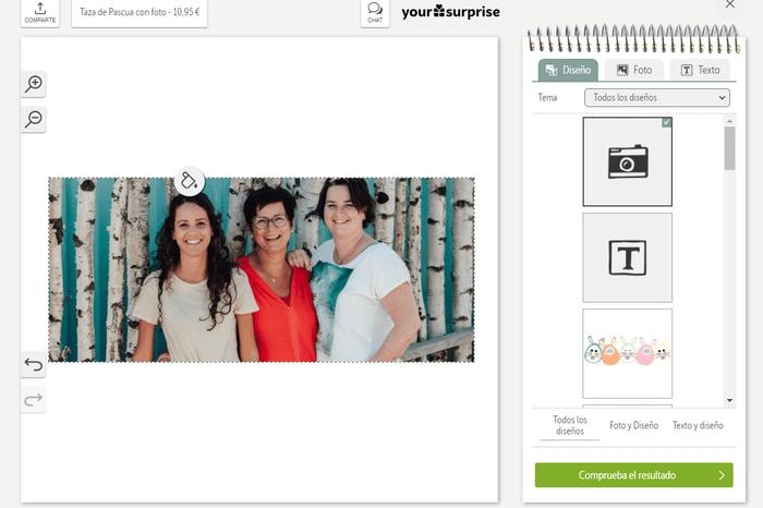 descarga tu foto en el editor en línea