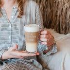 Latte macchiato pohár