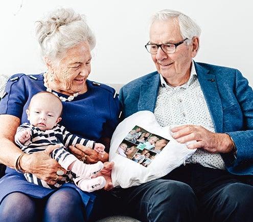 Lahjat isovanhemmille