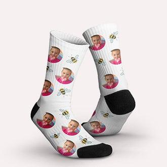 Chaussettes avec photo