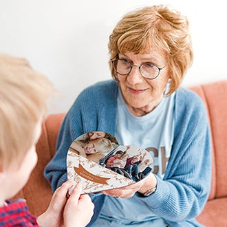 Gave til bedstemor