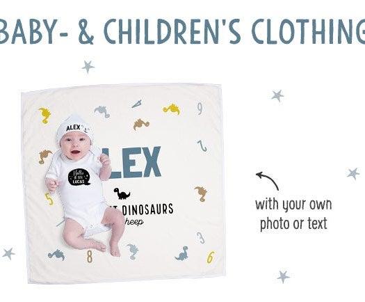 Személyre szabott baba és gyerek ruházat