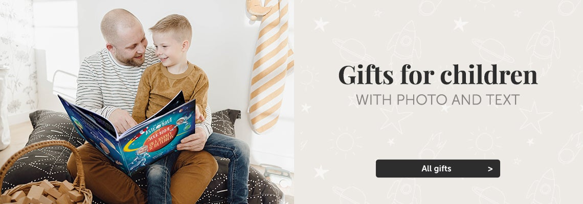 Personalised gifts for children