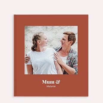 Álbum de fotos - Mãe e eu