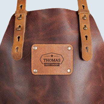 Leather apron - Father's Day