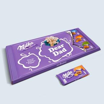Méga tablette Milka