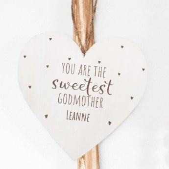 Asking a loved one to be a godparent