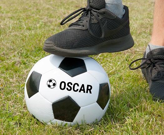 Fußball mit Name