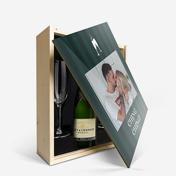 Champagne present set