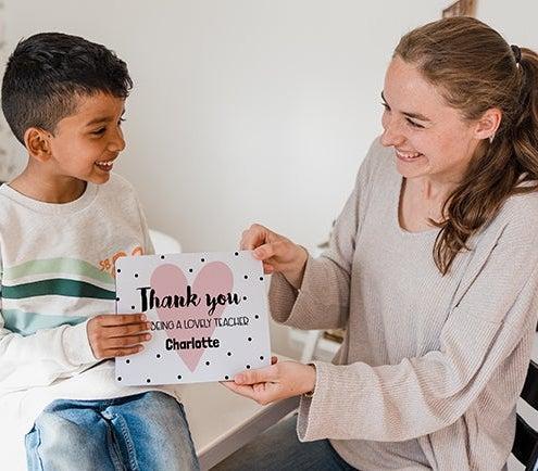 Darčeky pre učiteľov