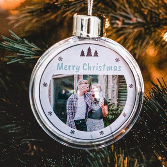 Personalised photo gifts for your Christmas tree