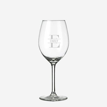 Graverede glasen