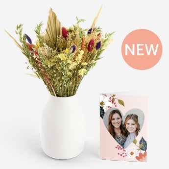 Bukiet suszonych kwiatów