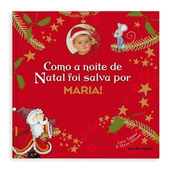 Livro Personalizado - Natal