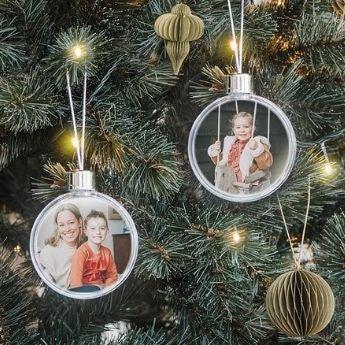 Regalos con foto para el árbol